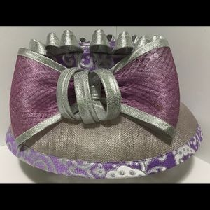 Women's fashion cute hat with a big bow, size OS